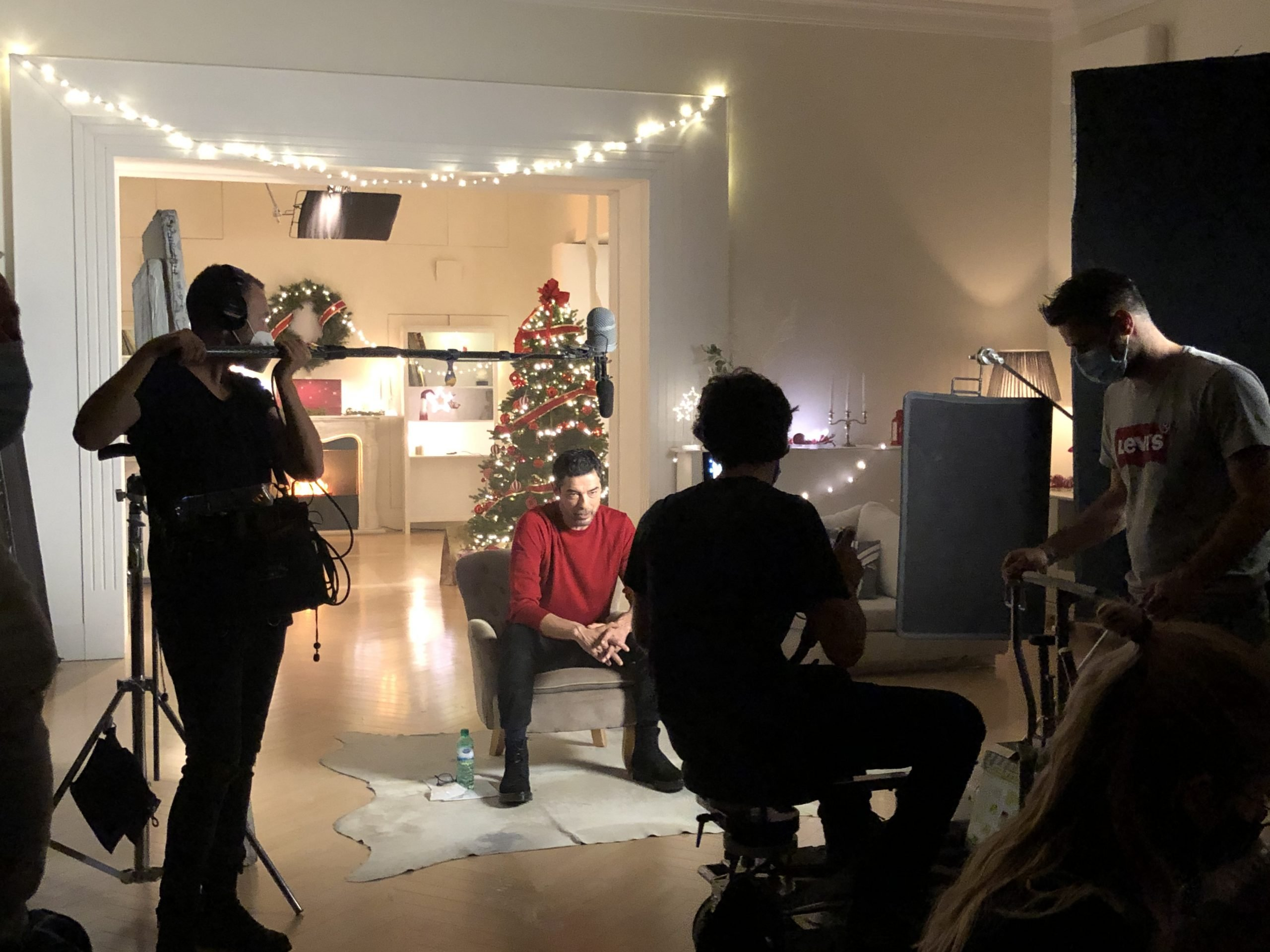 Sky cinema Christmas – backstage2